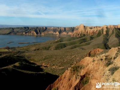Carcavas Castrejón,Santa María de Melque; yelmo madrid lagunas sierra de grazalema